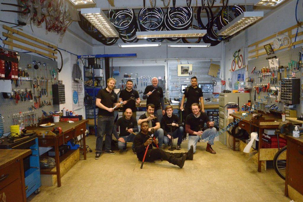 Team_Hof-Rad Fahrradservice | Fahrradwerkstatt | Fahrradgeschäft | Karlsruhe